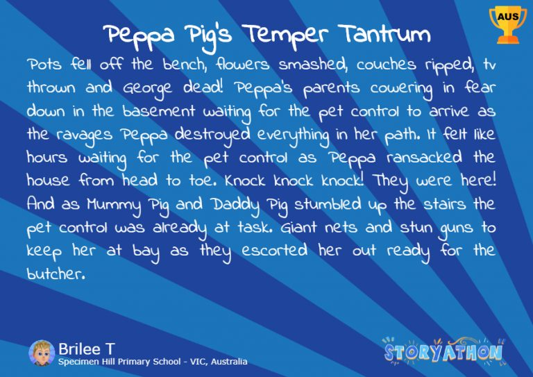 Peppa Pig's Temper Tantrum