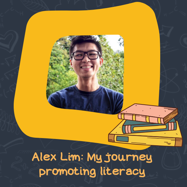 Alex Lim: My journey promoting literacy
