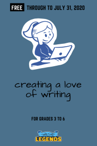 Creating A Love Of Writing