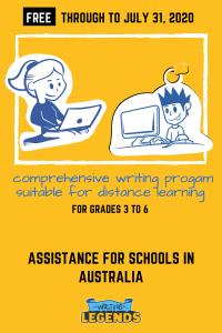 Writing Legends | Assistance for Schools in Australia