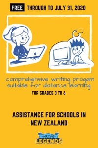 Writing Legends - Assistance For Schools in New Zealand