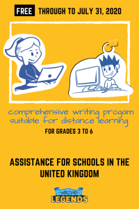 Writing Legends - Assistance For Schools in United Kingdom
