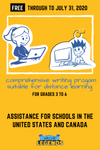 Writing Legends - Assistance For Schools in United States and Canada